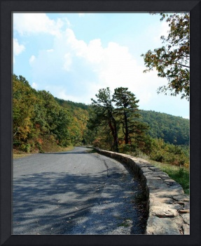 Skyline Drive Road Scene 8X10 Normal Color