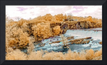 Esopus Creek Falls in Infrared