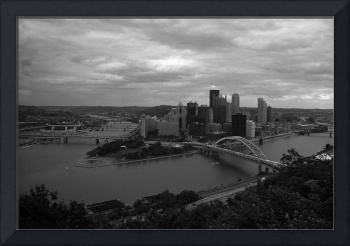Pittsburgh - View of the Three Rivers