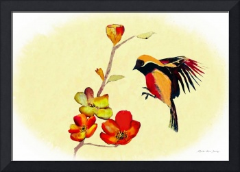 Decorative Bird AL21217R