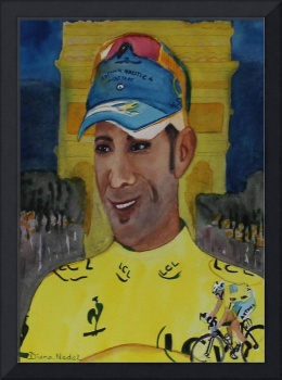 Wearing the Yellow Jersey Vincenzo Nibali