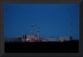 Sable Gas Plant at Dusk - Goldboro, Nova Scotia