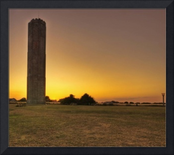 Naze tower sunset