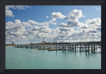 Mackinac City Michigan Boating Docks