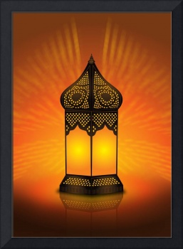 Beautiful and Intricate Arabic Lamp