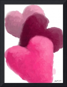 Hearts 3 Painterly