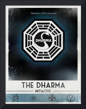 Lost Dharma poster