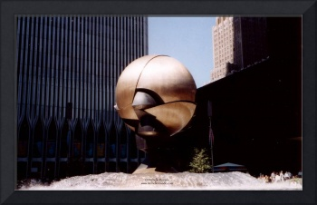 World Trade Center Sphere, New York, September 7,