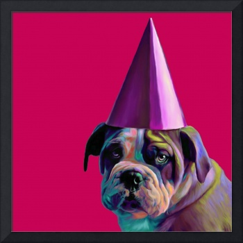 Pink Birthday Pup
