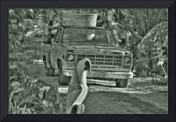 Old Trucks and Dirt Roads
