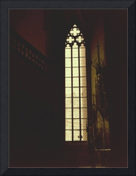 Gothic Window Yellow
