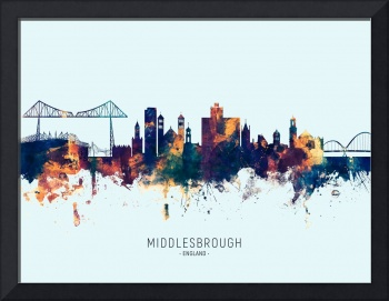 Middlesbrough England Skyline