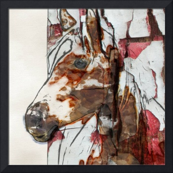 Red Brown Horse