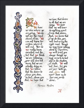 Prayer of Thomas Merton