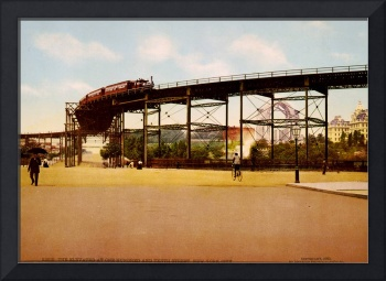 Elevated Train at 110th Street NYC Photo-Print
