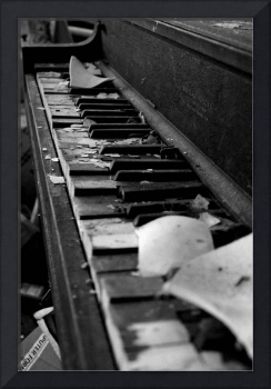 Forgotten Music Black and White