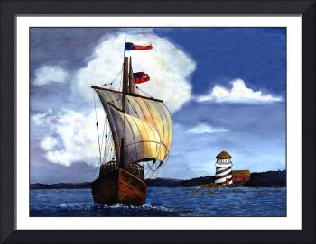 A Sailin' Painting