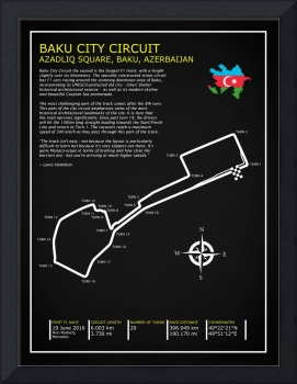 The Baku City Grand Prix Circuit
