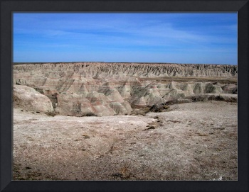 Blue over Badlands