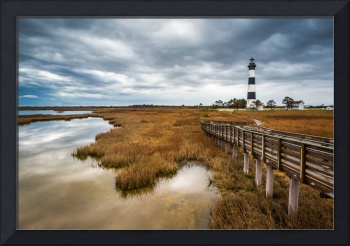 Outer Banks North Carolina Bodie Island Lighthouse