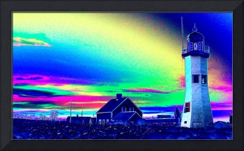 Old Scituate Light Aura