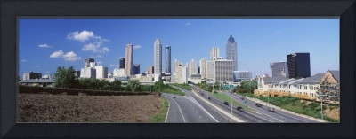 Freedom Parkway and skyline Atlanta GA