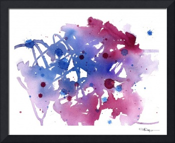 Abstract in Purple