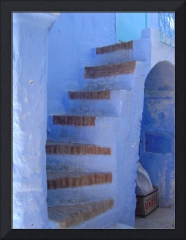 Chef Chaouen Stairs