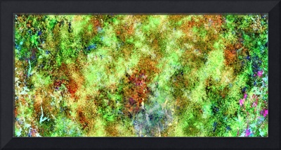 Abstract moss