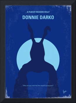 No295 My Donnie Darko minimal movie poster