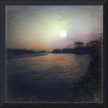 Full Moon - Upper Magdalena River - Colombia