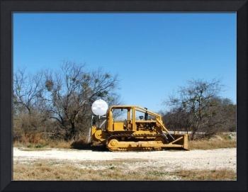 Bulldozer on a ranch