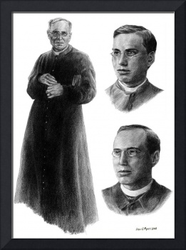 Portrait of Father Thomas Frederick Price (3 in 1)