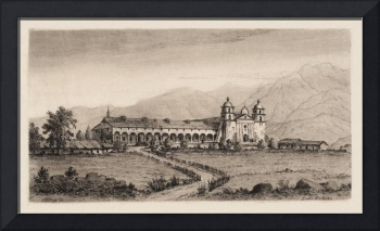 Santa Barbara Mission HC Ford 1883
