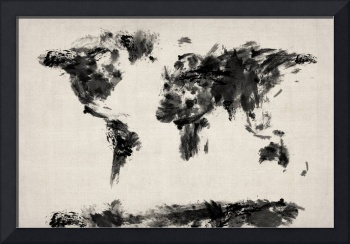 Map of the World Map Abstract