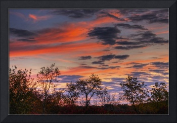 October Sunrise in Hocking Hills by Jim Crotty 5