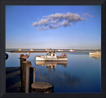 Cape Cod Fishing Boat, Chatham Massachusetts