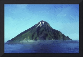 East side of Chagulak Island - Oil