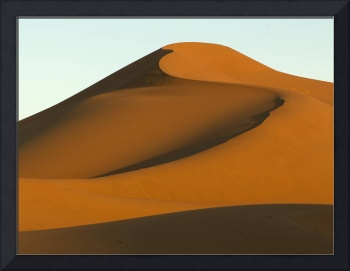 Smooth sand slopes