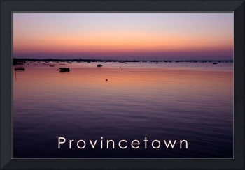 Sunrise Over Provincetown Harbor