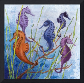 Seahorses in Paradise