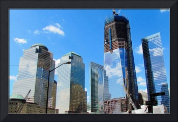 World Trade Center Construction, New York City