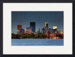 Mpls Skyline Photography Lake Calhoun Summer by Wayne Moran