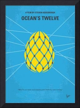 No057 My Oceans 12 minimal movie poster