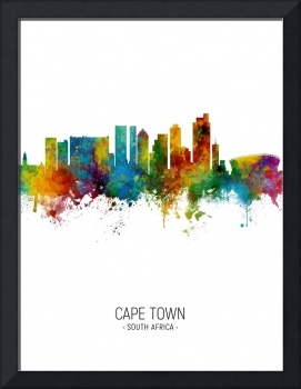 Cape Town South Africa Skyline