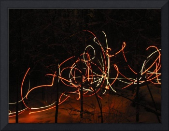 Lights in the wood 2