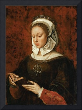 Ambrosius Benson - Young Woman in Orison Reading a