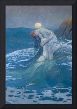 Howard Pyle~The Mermaid