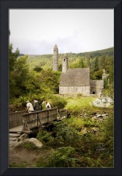 Monastery at Glendalough