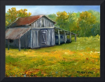 Louisiana Art; Old Barn